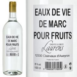 Eau de vie de Marc pour Fruit
