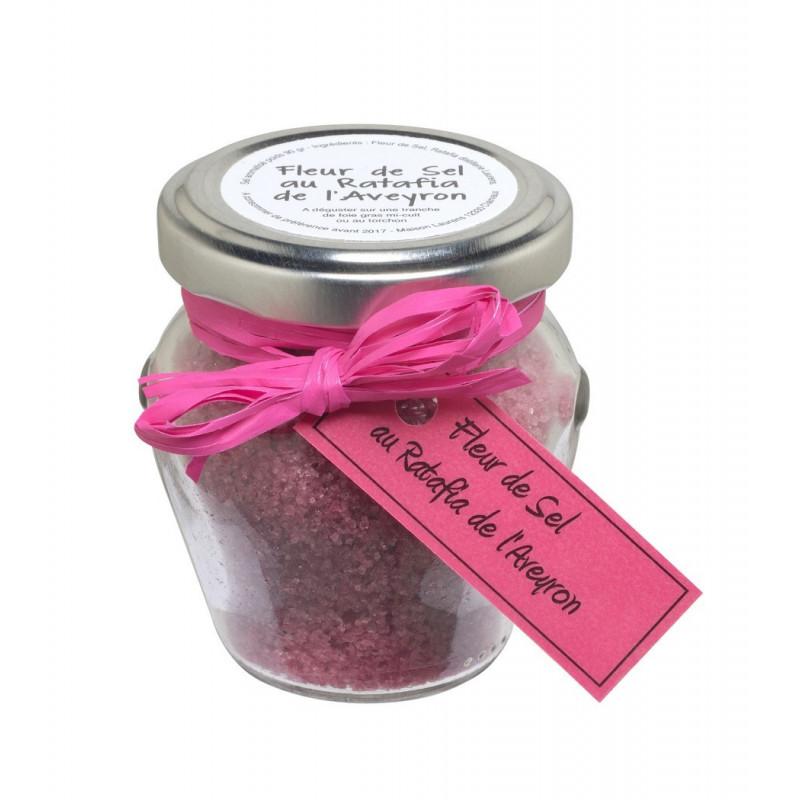 Fleur de sel  au ratafia de l'Aveyron