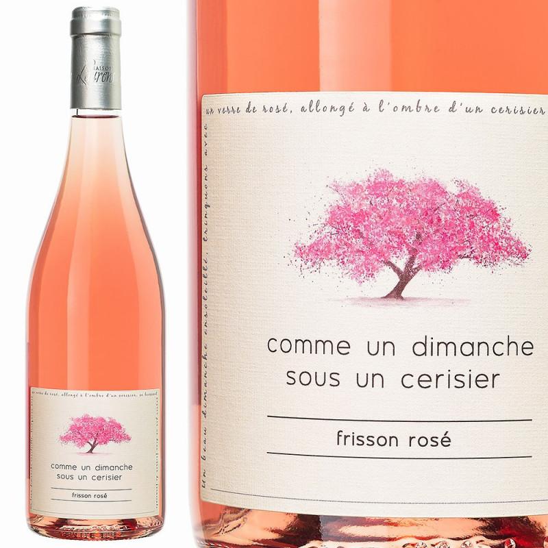 Comme un dimanche sous un cerisier Frisson rosé 2019